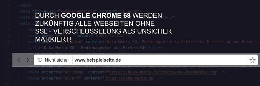 Chrome SSL-Zertifikat